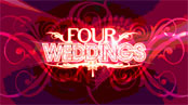 four weddings logo