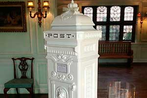 Luxury Wedding Postbox hire